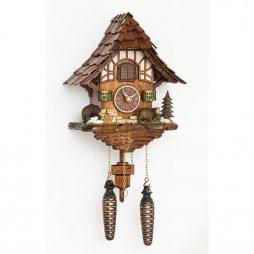 Hermle Baiersdorf Quartz Cuckoo Clock  Hermle 54000
