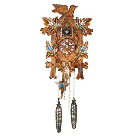 Hermle Adelheide Quartz Cuckoo Clock  Hermle 55000