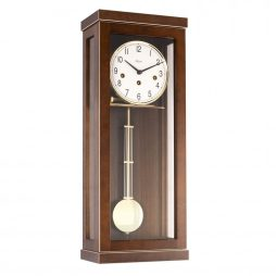 Carrington Regulator Wall Clock - Westminster Chime - Walnut  Hermle 70989030341