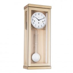 Carrington Regulator Wall Clock - Westminster Chime - Maple  Hermle 70989090341