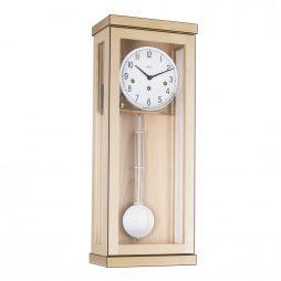 Carrington Regulator Wall Clock - Westminster Chime - Maple  Hermle 70989090341