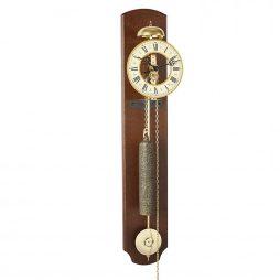 Michelle Skeleton Wall Clock - Walnut Hermle 70992030711