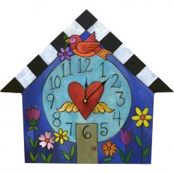 A Little Birdie Told Me Wall Clock