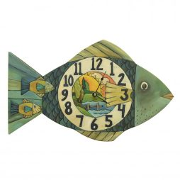 Lake Time Decorative Wall Clock