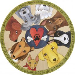 Life with Dogs Lazy Susan