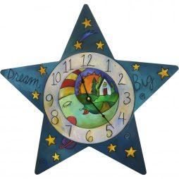 Who Hung the Moon Decorative Wall Clock