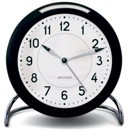 Arne Jacobsen - Station Alarm Clock - Black RD-43672