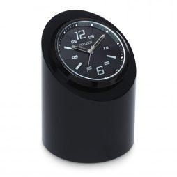Circular Black Desk Clock - Citizen Clocks CC1010