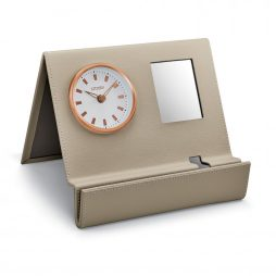 Workplace Desk Clock and Cell Phone Charging Station - Citizen Clocks CC1018