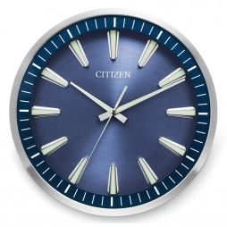 "Citizen 14"" Blue Wall Clock - CC2010"