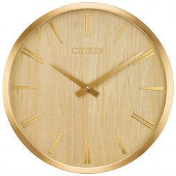 "Wood 14.25"" Wall Clock - Citizen Clocks CC2018"