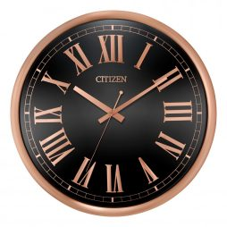 "Citizen 14"" Wall Clock - Rose Gold - Citizen Clocks CC2024"
