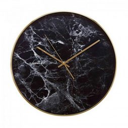 "Cloudnola 15-1/2"" Marble-design Wall Clock Marble Design Wall Clock Cloudnola 0032"