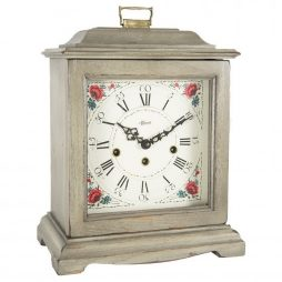 Austen Mechanical Bracket Clock - Gray - Hermle 22518GY0340