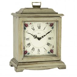 Austen Quartz Bracket Clock - Gray - Hermle 22518GYQ