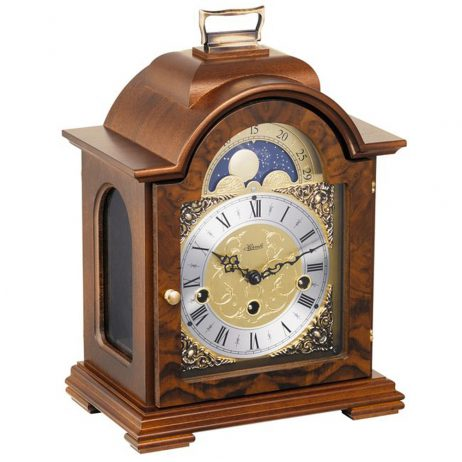 Debden Classic Mechanical Bracket Clock - Walnut Hermle 22864030340