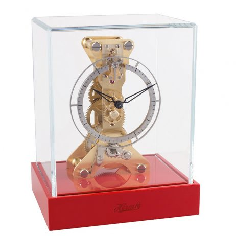 olan Table Clock - Red Hermle 23047R70762
