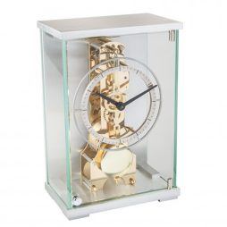 Alexa 14-day Mechanical Skeleton Mantel Clock Hermle 23049000791