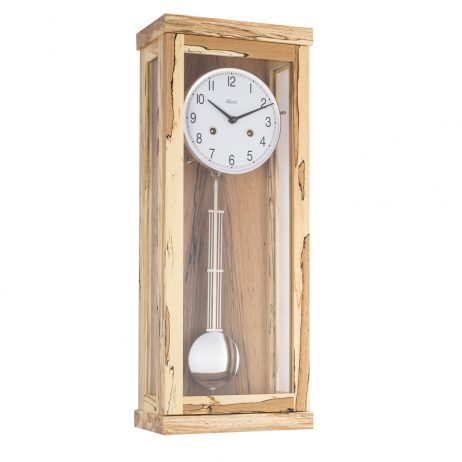 Carrington Regulator Wall Clock - Ice Beech - Hermle 70989T30341