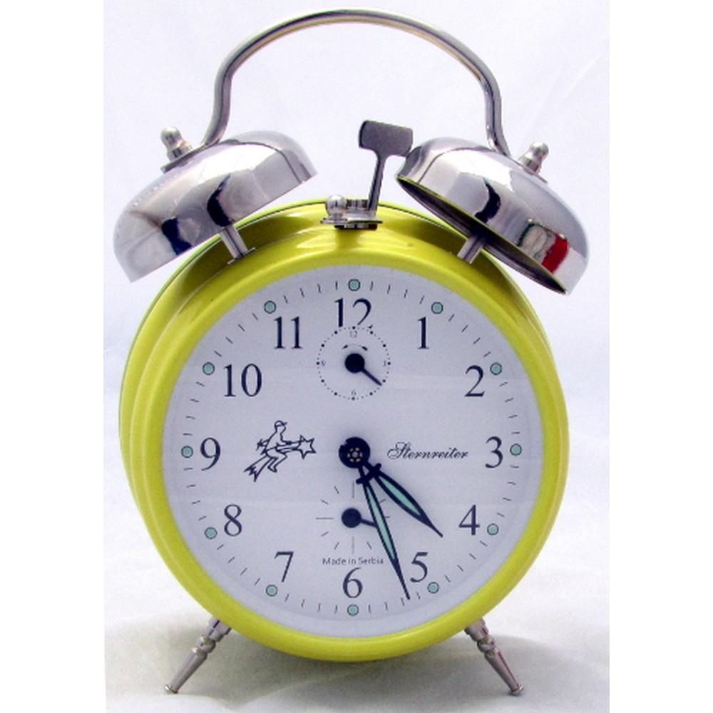 Sternreiter Double Bell Alarm Clock - Yellow MM 111 602 38 ...