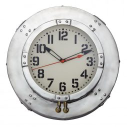 "Baltimore 25"" Round Wall Clock - Pendulux WCBALAL"