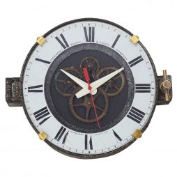 "Chicago Factory 11"" Wall Clock - Pendulux WCCHFWE"