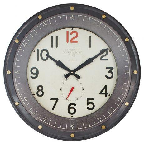 Observatory Wall Clock - Pendulux WCOBSBK