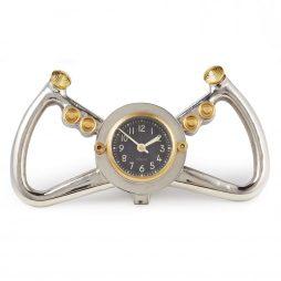 Cockpit Table Clock - Aluminum - Pendulux TCCPTAL