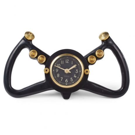 Cockpit Table Clock - Black - Pendulux TCCPTBK