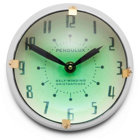 Orbit Retro Wall Clock - Pendulux WCORBAL