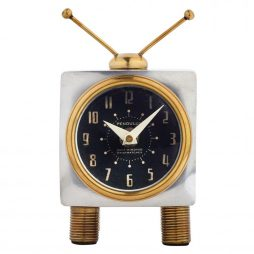 Teevee Table Clock - Pendulux TCTEEAL