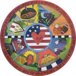 Party in the USA Lazy Susan