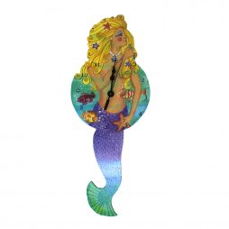 Mermaid Wall Clock - Laughing Moon 250P