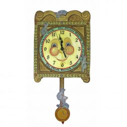 ickory Dickory Wall Clock - Laughing Moon 263P