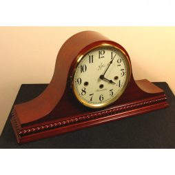 Brahms Mechanical Tambour Mantel Clock - Cherry Finish MM 808 119 08