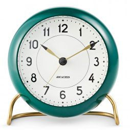 Arne Jacobsen - Station Alarm Clock - Green RD-43677
