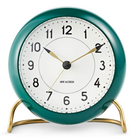 Arne Jacobsen - Station Alarm Clock - Green RD-43677