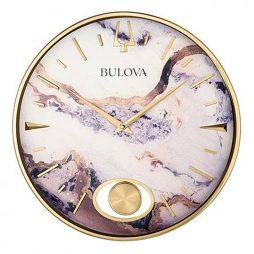 Stonemont 15.75 inch Decorative Wall Clock   Bulova C4864
