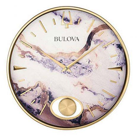 Stonemont 15.75 inch Decorative Wall Clock | Bulova C4864