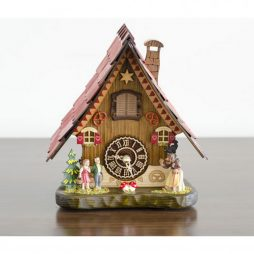 Hermle Hansel & Gretel German Mantel Cuckoo Clock 65000