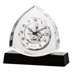 Trident Table Clock - Bulova B1706
