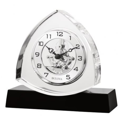 Trident Table Clock - Bulova B1706