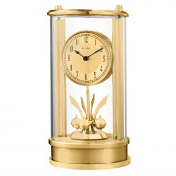 Isabel Tabletop Clock with Rotating Pendulum - Bulova B8820