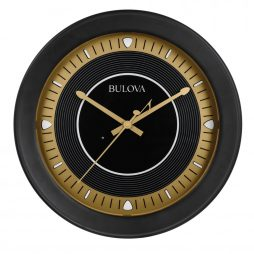 Long Play Indoor - Outdoor Wall Clock Bluetooth Speaker | Bulova C4861