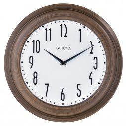 Bulova Beacon 14 inch Wall Clock C4863