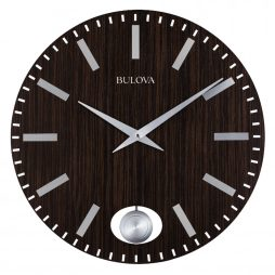 Bulova Manhattan Contemporary 24 inch Wall Clock C4867