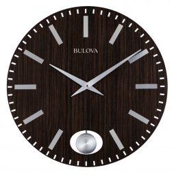 Bulova Manhattan Contemporary 24 inch Wall Clock C4867