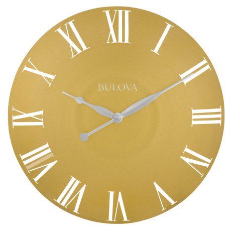 Bulova Lexington 24 Inch Wall Clock C4870 Clockshops Com