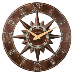 31%Off · Bulova Nor'Easter 27 inch Indoor - Outdoor Wall Clock C4873