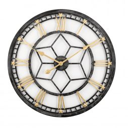 "Starlight Oversize 24"" Wall Clock LED Lighting - Bulova C4875"